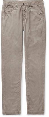 Massimo Alba Cotton-velvet Trousers - Neutral