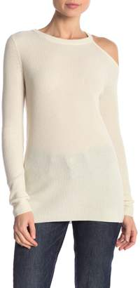 Velvet by Graham & Spencer Rory Cashmere Cut Out Sweater