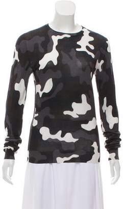 Christopher Kane Silk Printed Sweater