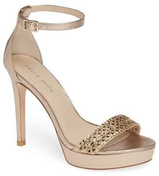 Pelle Moda Olivia Embellished Platform Sandal (Women)