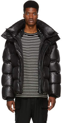 Juun.J Black Down Puffer Jacket