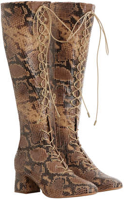 Zimmermann Lace Up Long Boot