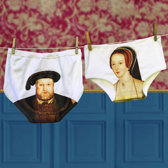 Tudor Twisted Twee Funny Gift Love Pants For Couples