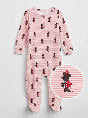 Gap babyGap   Disney Minnie Mouse Footed One-Piece