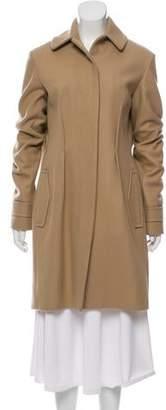 Rochas Wool Knee-Length Coat