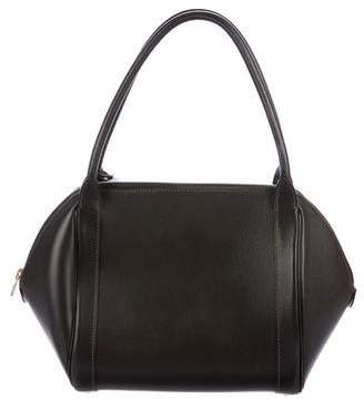 Delvaux Leather Shoulder Bag