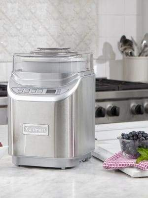 Cuisinart Brushed Chrome ICE-70 Electronic Ice Cream Maker
