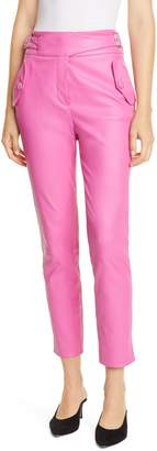 Veronica Beard Jania Leather Pants