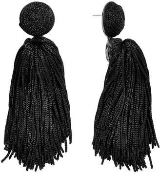 BaubleBar Round Top String Tassel Earrings 36858