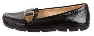 Prada Square-Toe Driving Loafers