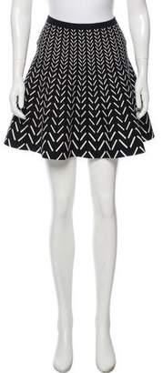 Ohne Titel Geometric Print Mini Skirt