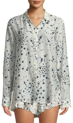 Xirena Beau Etoile-Print Lounge Shirt