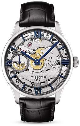 Tissot Chemin Des Tourelles Squelette Watch, 42mm $2,050 thestylecure.com