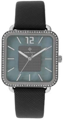 Nanette Lepore NANETTE Women's Quartz Faux Leather Watch, 42mm