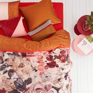 Oilily Mellow Rose Red Cotton Sateen Quilt Cover Set