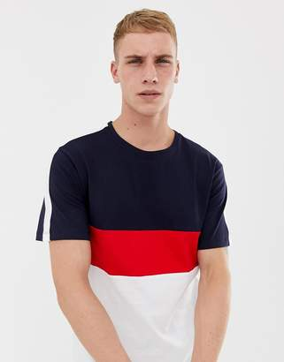 ONLY & SONS T-Shirt With Color Blocking
