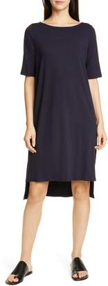 Eileen Fisher High/Low Shift Dress
