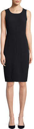 Emporio Armani Sleeveless Wool Sheath Dress