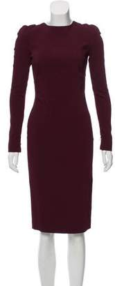 Tom Ford Zip-Accented Midi Dress