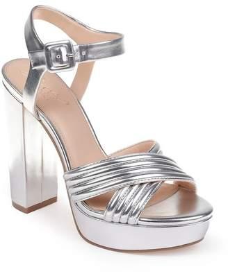 aa5ed0322b3 Badgley Mischka Silver Platforms - ShopStyle