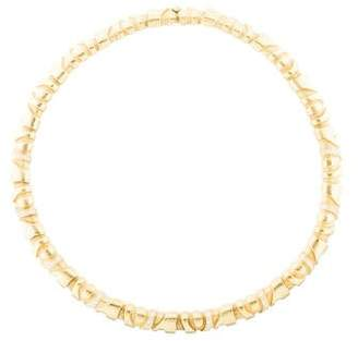 Kieselstein-Cord 18K Diamond Collar Necklace