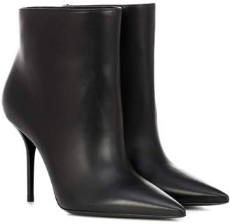 Saint Laurent Pierre 95 leather ankle boots