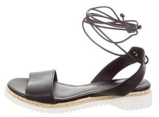 f1ee24229102 Rebecca Minkoff Black Leather Women s Sandals - ShopStyle