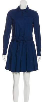 Diane von Furstenberg Mini Pleated Dress