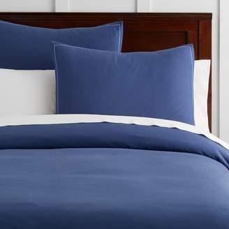 Pottery Barn Teen Classic Oxford Duvet Cover, Twin/Twin XL, Navy