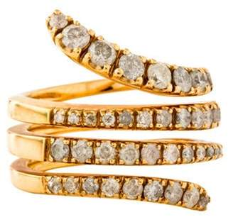 Roberto Marroni 18K Diamond Snake Ring rose Roberto Marroni 18K Diamond Snake Ring