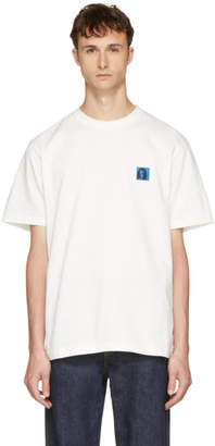 Calvin Klein Off-White Sandra Brant Patch T-Shirt