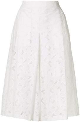 Neil Barrett lace culottes