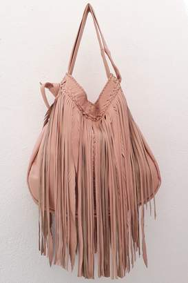 Areias Leather Bebe Pink Bag