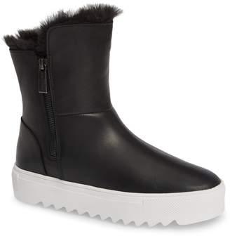 J/Slides Selene Faux Fur Lined Waterproof Boot