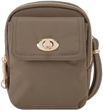 Travelon Anti-Theft Tailored Crossbody Bag Phone Pouch