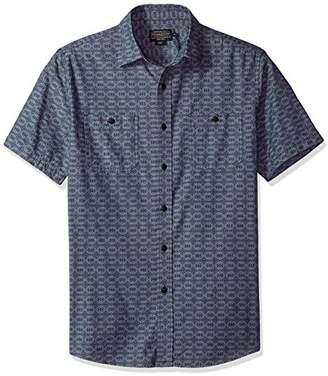 Pendleton Men's Short Sleeve Classic-fit Chambray Shirt