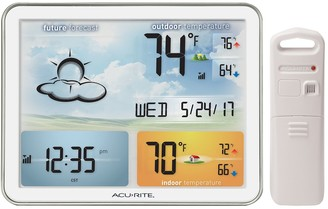 DAY Birger et Mikkelsen Acurite AcuRite Weather Station with Jumbo Display & Atomic Clock