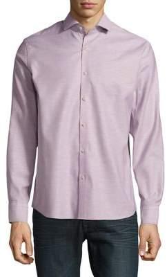 Black & Brown Black Brown Oxford Cotton Shirt