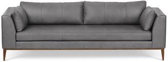 One Kings Lane Largo Sofa - Silver Leather