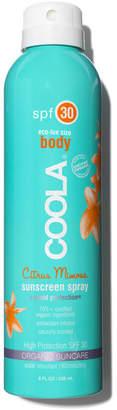 Coola Sport Continuous Spray SPF 30 Citrus Mimosa