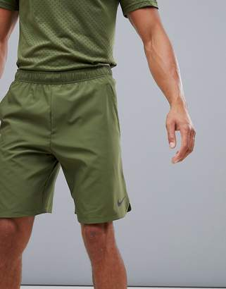 7e961f3eee7fb Nike Training Flex 2.0 Shorts In Khaki 927526-395