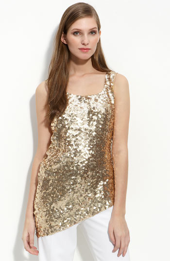 St. John Collection Sequin Tank