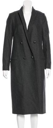 AllSaints Leni Wool Coat $375 thestylecure.com