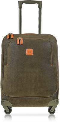 Bric's Life Olive Green Micro Suede Small Trolley