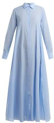 Palmer Harding PALMER//HARDING Point-collar pinstriped cotton dress