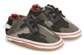 Robeez R) Cool & Casual Camo Print Crib Shoe