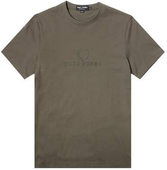 Fred Perry TONAL EMBROIDERED T-SHIRT