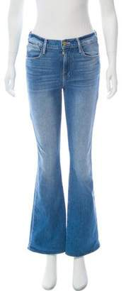 Frame Le High Flare Mid-Rise Jeans