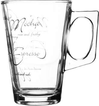Ravenhead Script Latte Mugs – Set of 4
