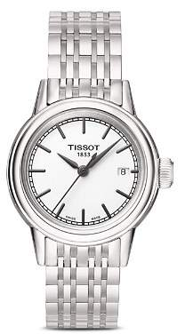 Tissot Stainless Steel Carson Watch, 29.5mm